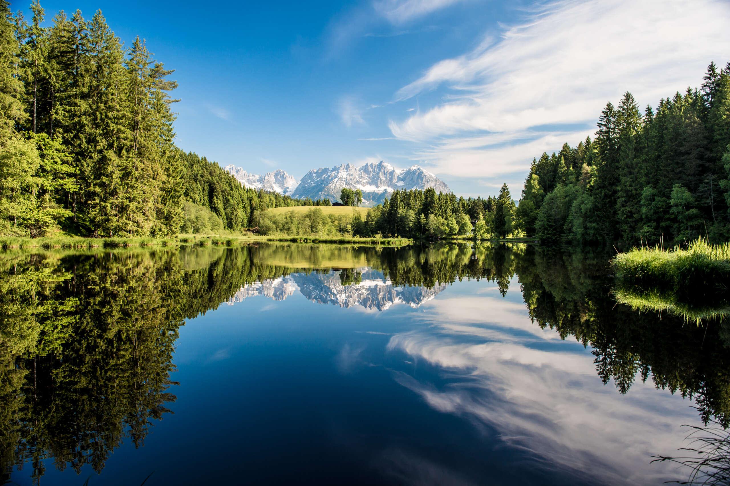 Waldbad Gieringer Weiher Kitzbühel